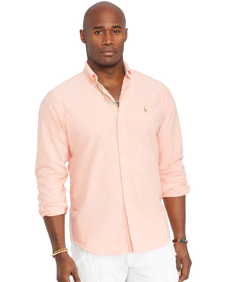 Polo Ralph Lauren Big and Tall Classic-Fit Oxford Shirt