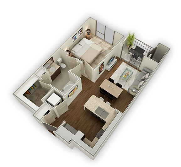 Check Out Our One Bedroom Apartments In Houston, Texas