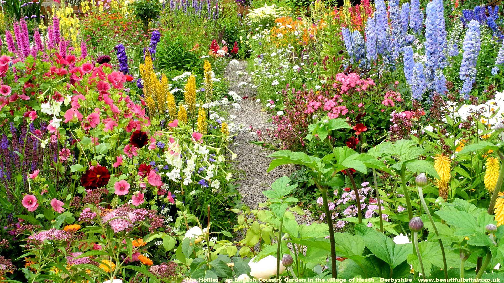 Beautiful English Country Garden 400 x 300