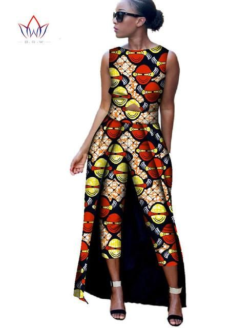 Print Jumpsuit African Style #africanstyleclothing