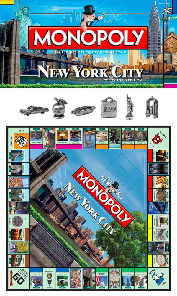 York Monopoly Board Game
