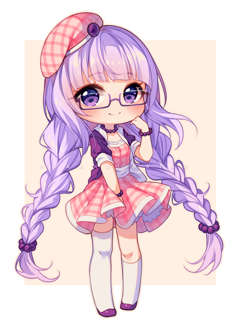 Video Commission Lavender Breeze By Hyanna Natsu On Deviantart In 2020 Chibi Girl Drawings Cute Anime Chibi Girls Cartoon Art