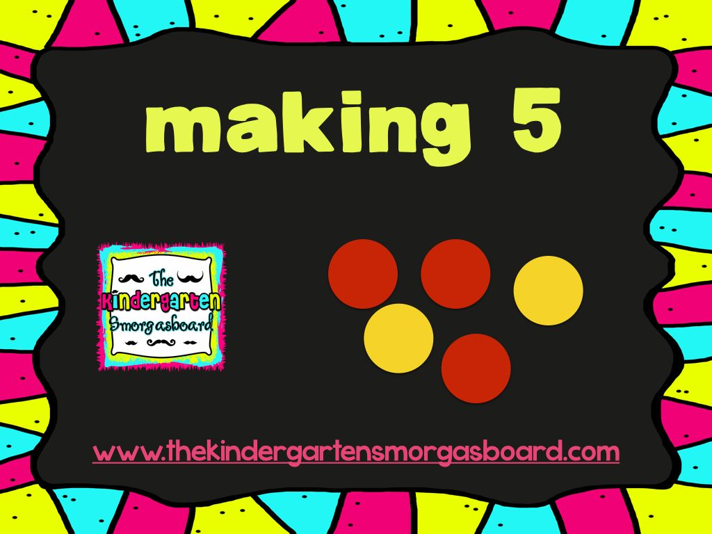 Decomposing Numbers And Making 5