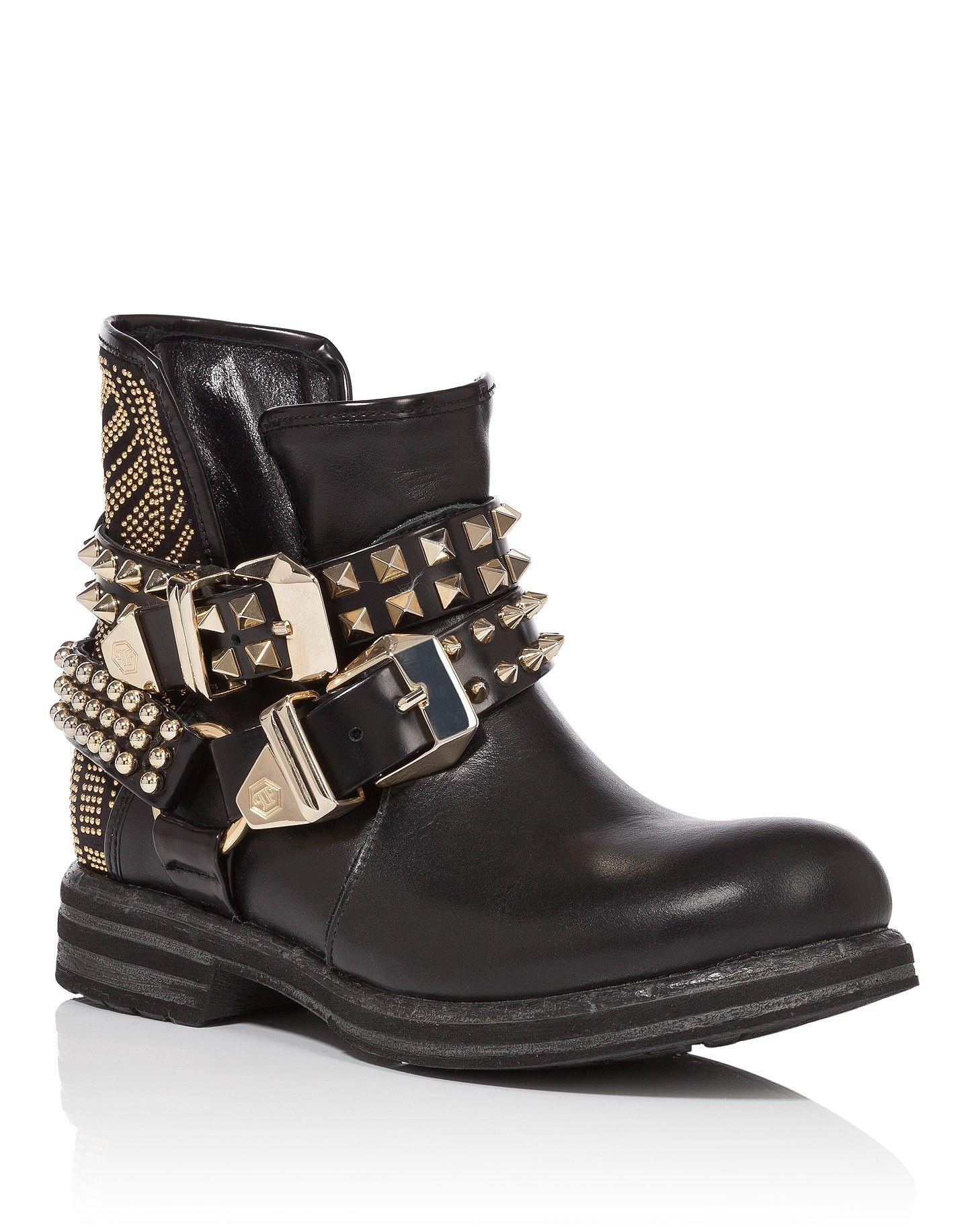 FOOTWEAR - Shoe boots Philipp Plein hvmlPPrF46