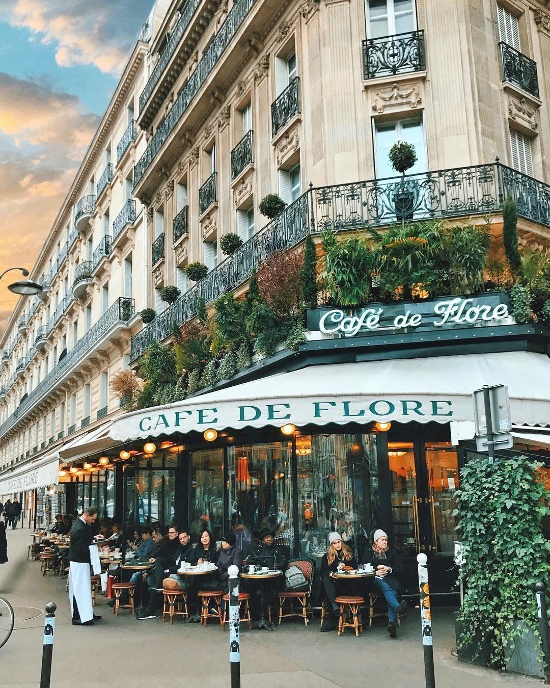 SIAMO ANDATI A FARE COLAZIONE AL CAFE' DE FLORE A PARIGI, BOULEVARD  SAINT-GERMAIN 17 — UNA LUNGA COLAZIONE — | Nel delirio non ero mai sola