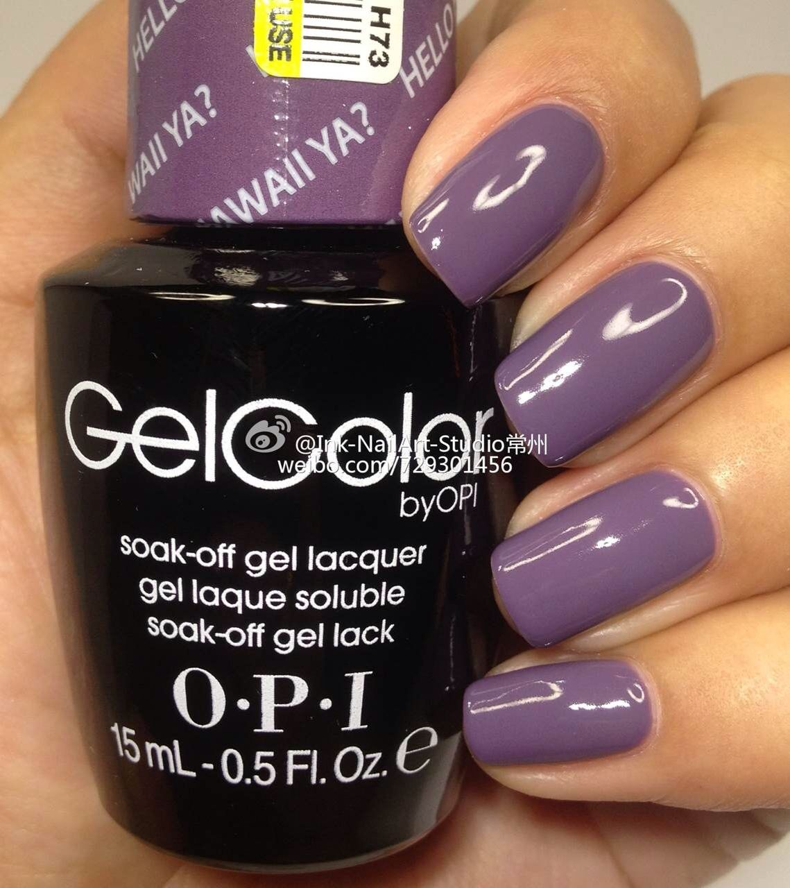 OPI Hawaii 2015 - Hello Hawaii ya? Just ordered this color off ...