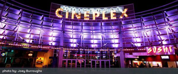 The Amc Theatres Universal Cineplex At Universal Orlando Offers A Military Discount Of 1 50 Off Any Type Of Ticket After 4pm Go To Ou Salle De Cinema Cinema
