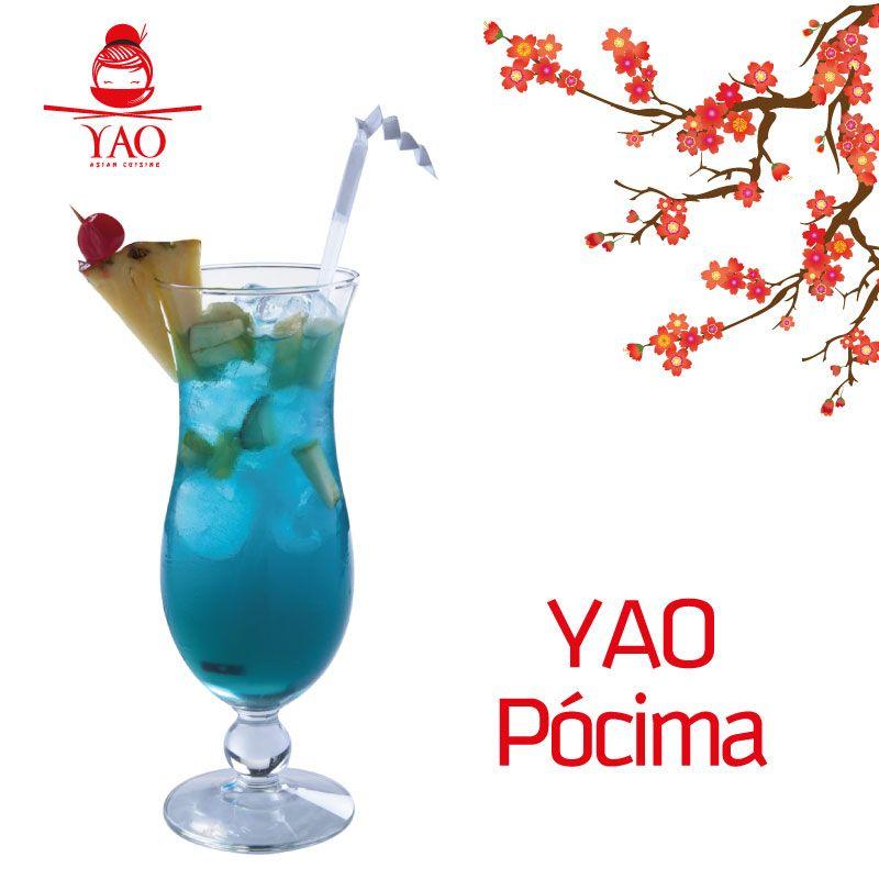 YAO Pócima: Refrescante y colorido trago elaborado con ingredientes únicos. #Chilling #VenParaYAO
