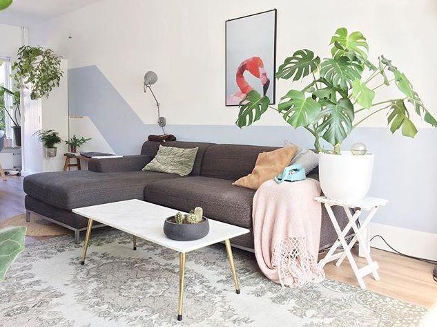 vintage rug, very nice color combinations Mooi licht vloerkleed ...