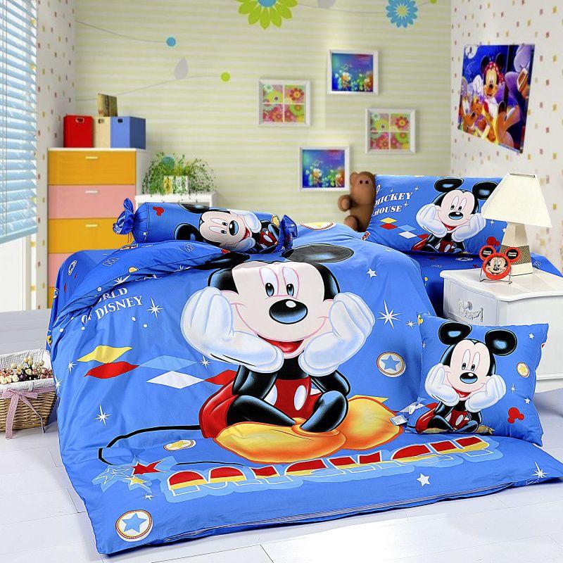 Mickey Mouse Bedroom | Mickey mouse room, Mickey mouse ...