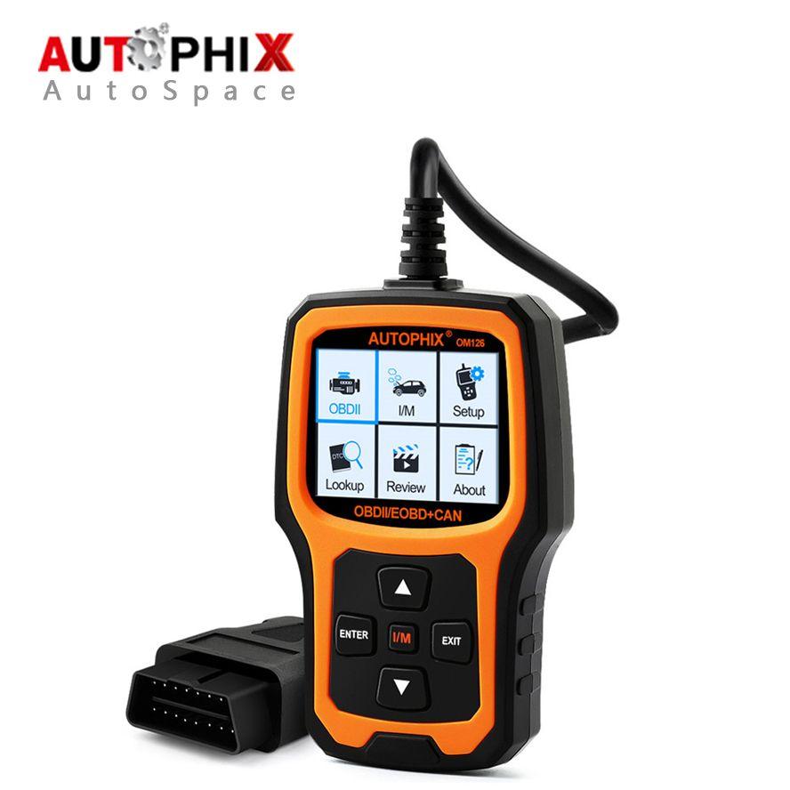 Autophix OM126 Universal Car OBD OBD2 Scanner Engine Error Code