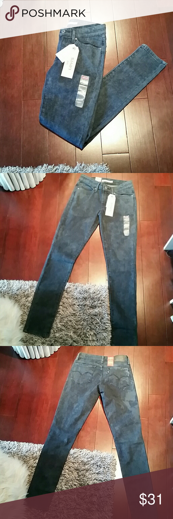 BNWT Levi 711 Skinny Jean SO cute! Love the retro look these have. Tags attached, never worn. Skinny leg. 711 jeans made by Levi definitely lift + are very slimming. Levi's Jeans Skinny