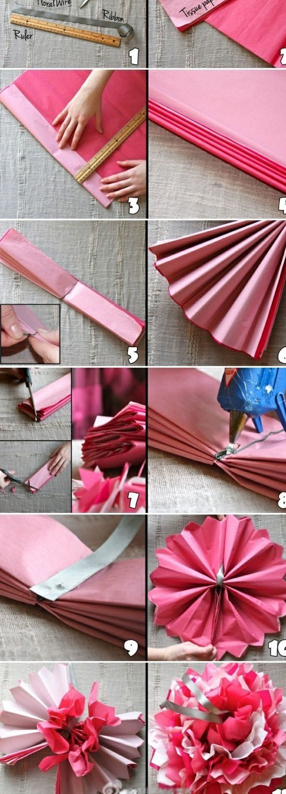 DIY Pom Poms Diy Crafts Home Made Easy Craft Idea Ideas