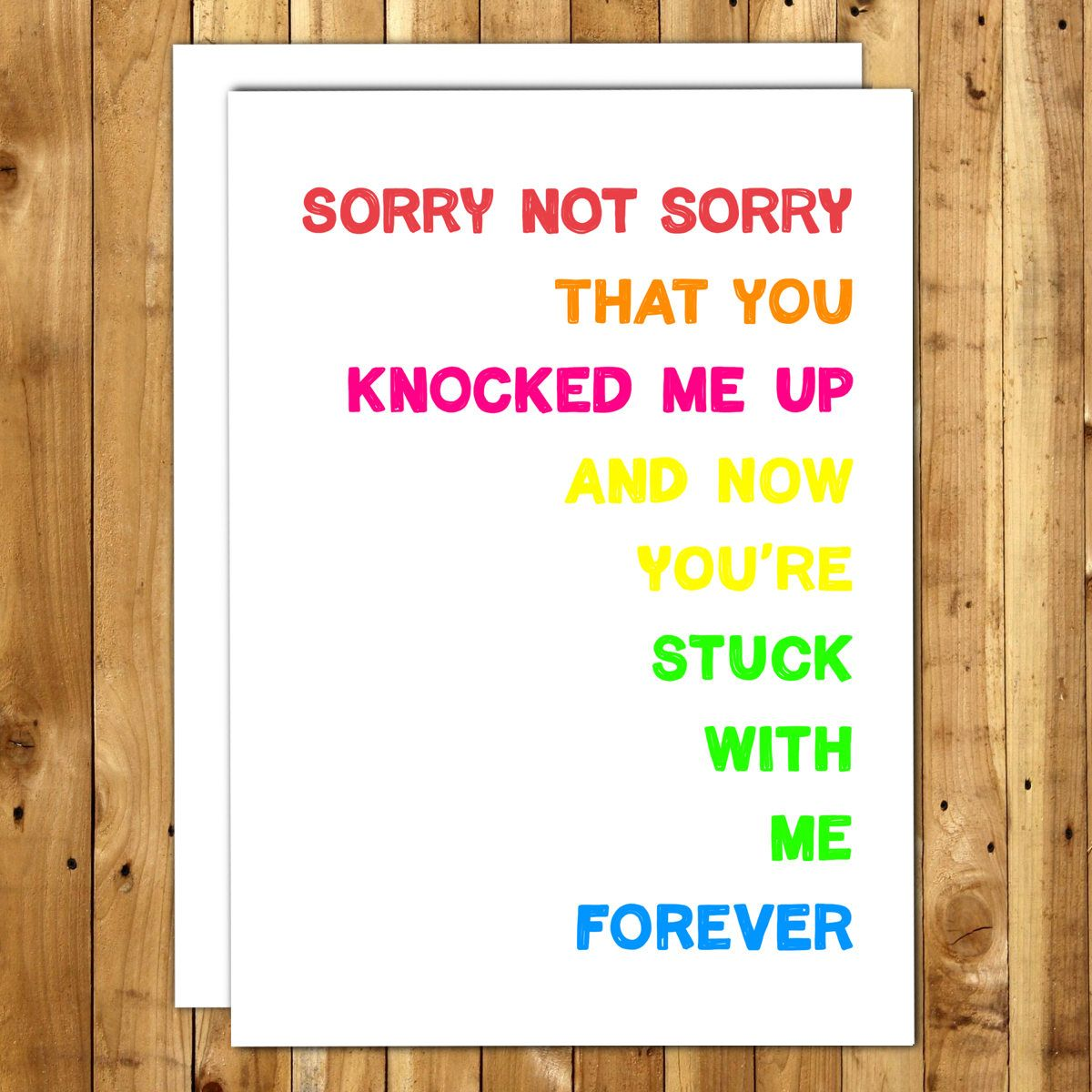 Funny Fathers Day From Wife Fathers Day Card For Husband Funny