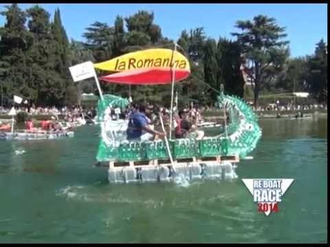 RE BOAT RACE 2014 - la 5a edizione al Parco del Lago dell'Eur Roma
