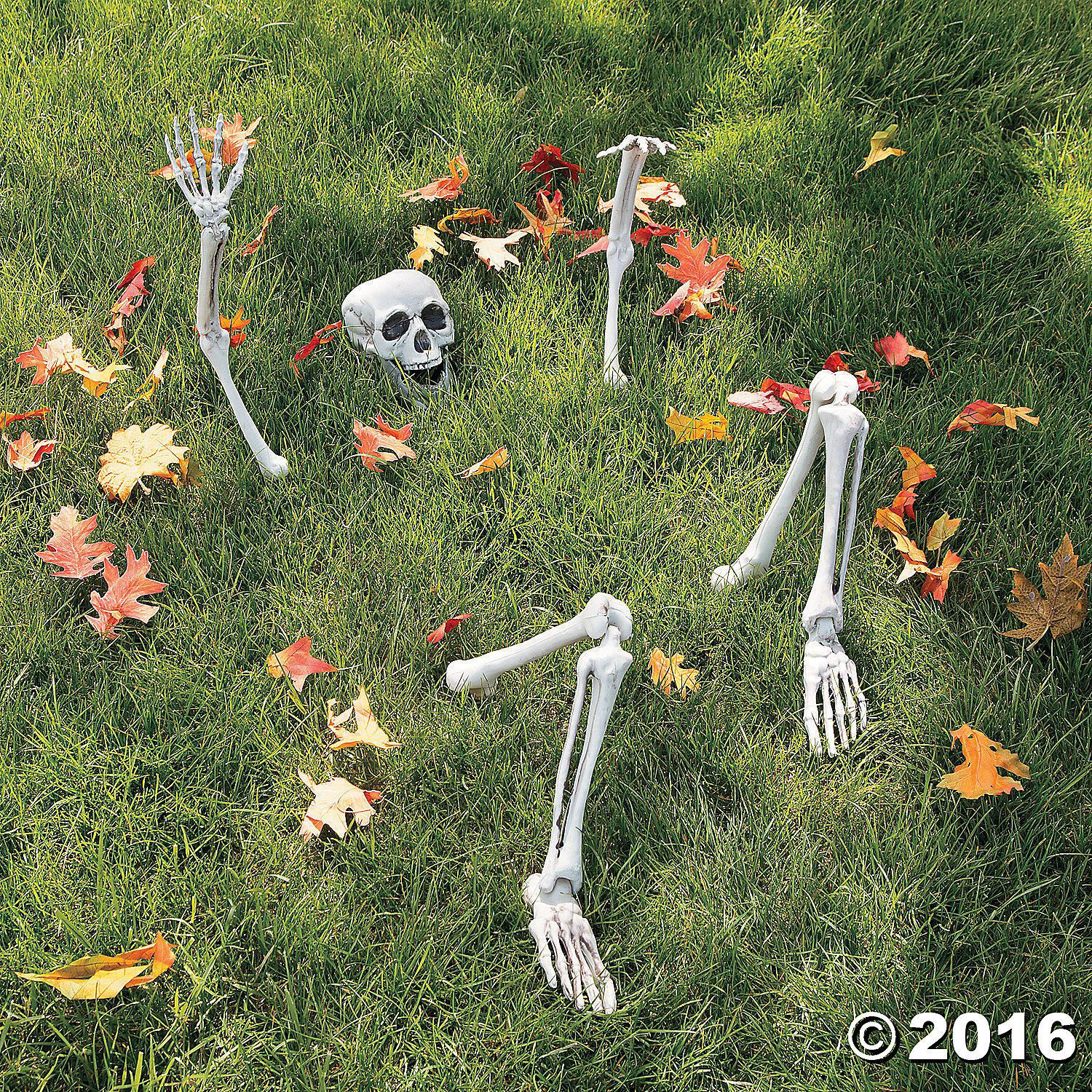 Skeleton Groundbreaker Prop Life Size Halloween NEW Haunted House - Halloween Yard Decorations