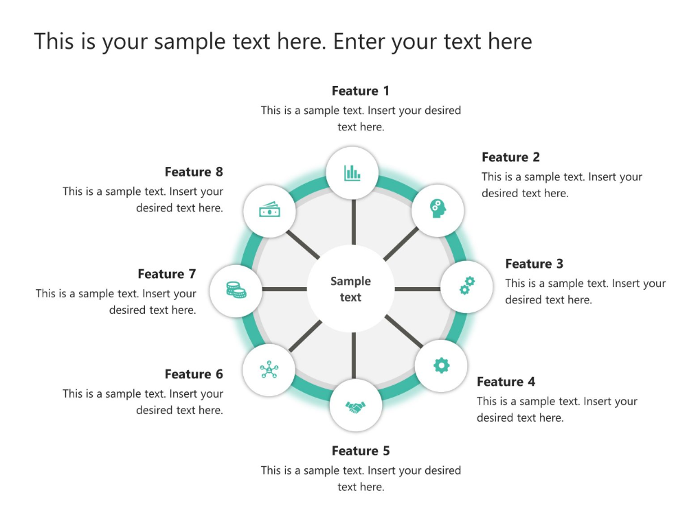 Spoke And Wheel Powerpoint 2 In 2020 Infographic Powerpoint Business Powerpoint Presentation Powerpoint Templates