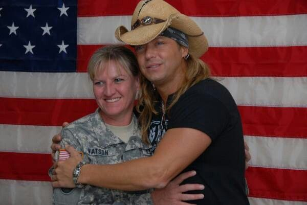 Bret loves the troops and wounded worriers great guy long line of family service
