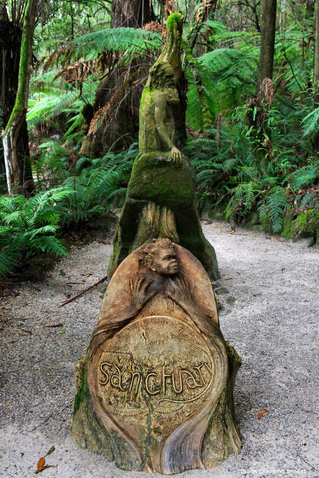 William ricketts sanctuary hand crafted sculpture
