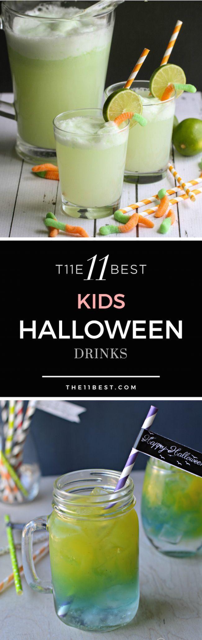 The 11 Best Halloween Drink Recipes For Kids Halloween Pinterest