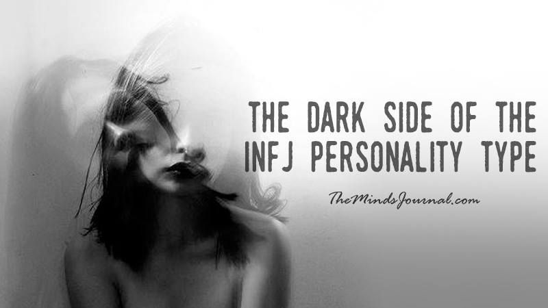 THE DARK SIDE OF THE INFJ PERSONALITY TYPE - Here are a few things INFJ's typically struggle with. Can you relate to any of these ? - http://themindsjournal.com/dark-side-infj/