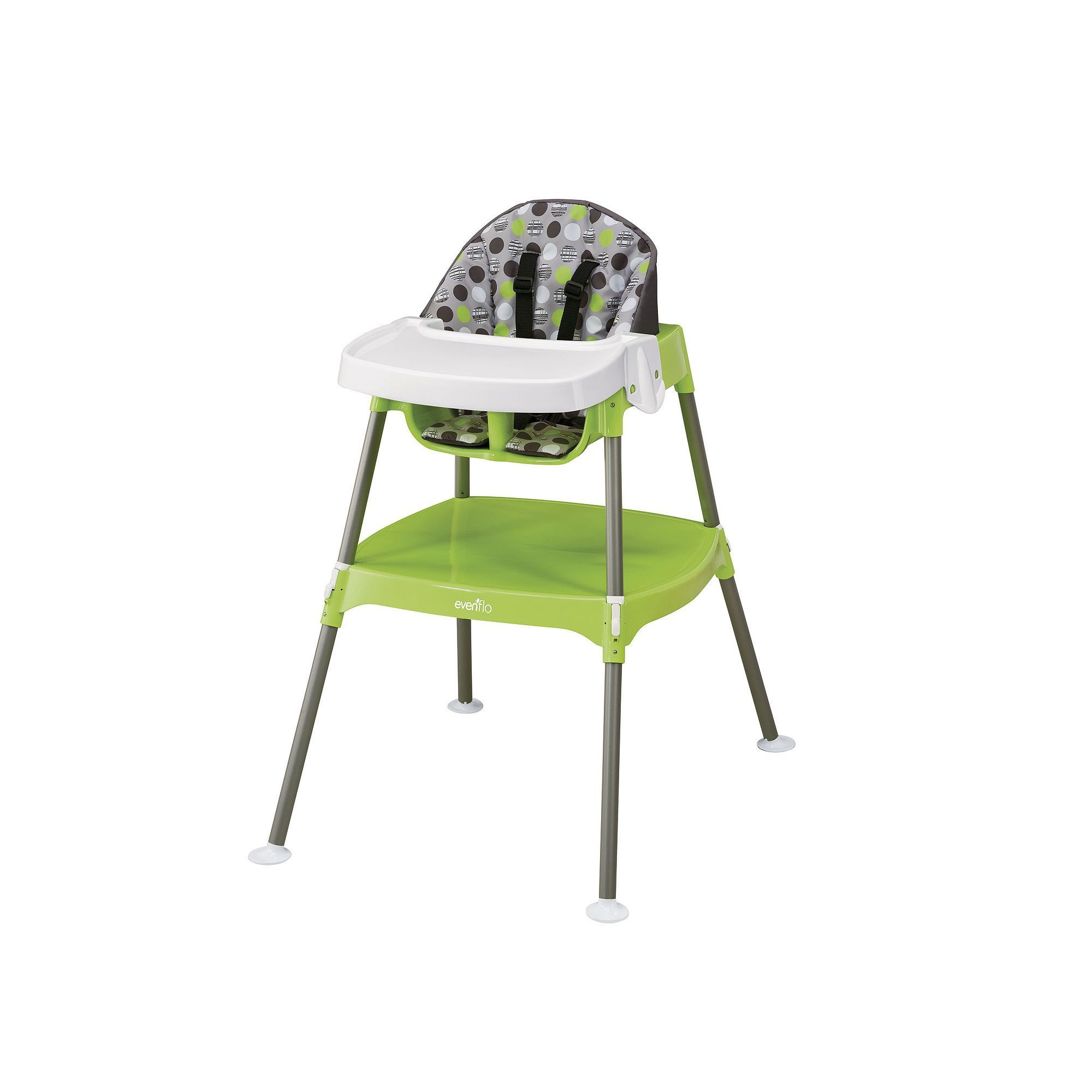 Graco high chair 4 in 1 evenflo convertible in high chair multicolor  high chairs
