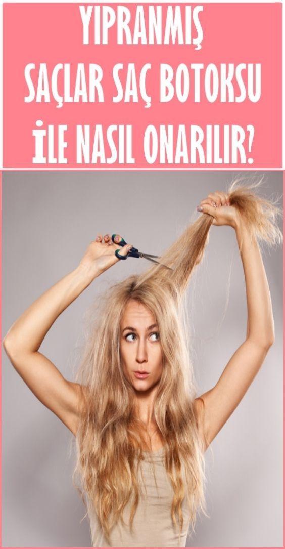 Yıpranmış Saçlar Saç Botoksu İle Nasıl Onarılır?