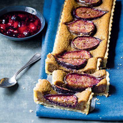 Apéro dinatoire : 9 recettes express pour les soirées entre amis #aperodinatoirefacile recette de tarte aux figues #aperodinatoirefacile