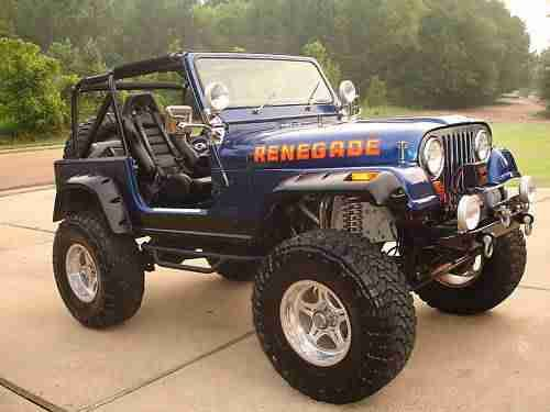 Sell Used Awesome Restored 1983 Jeep Cj 7 Renegade Rock Crawler In Mars Pennsylvania United States Jeep Cj Jeep Vintage Jeep