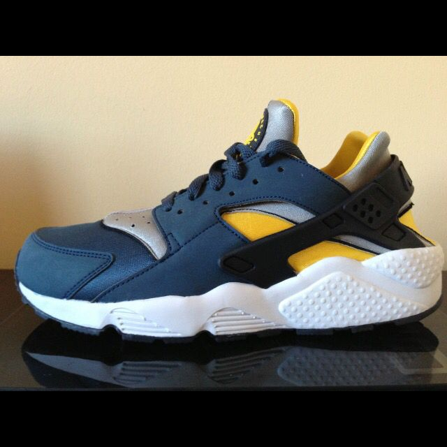Blue \u0026 Yellow   Nike huarache