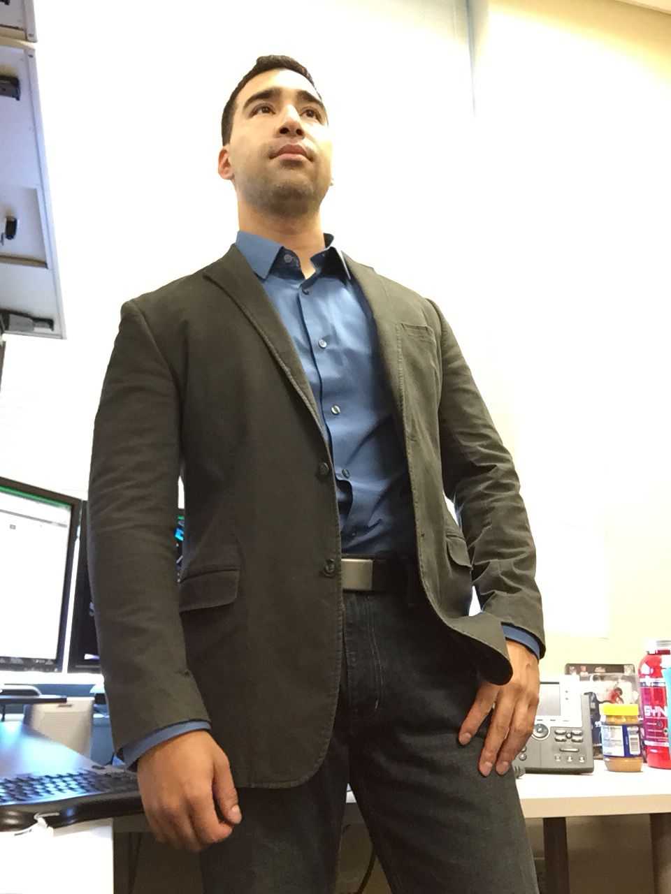 Jeans and Sports Coat Business casual attire, Suit