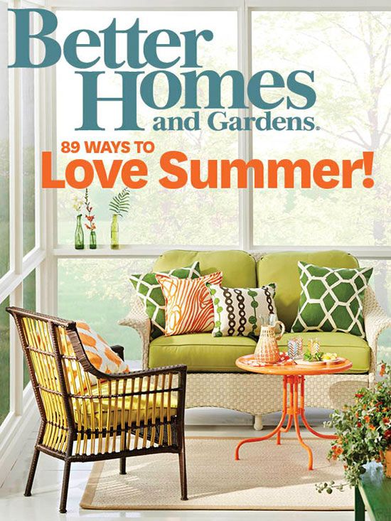 The newest recipes decorating ideas and garden tips from for Free house magazines