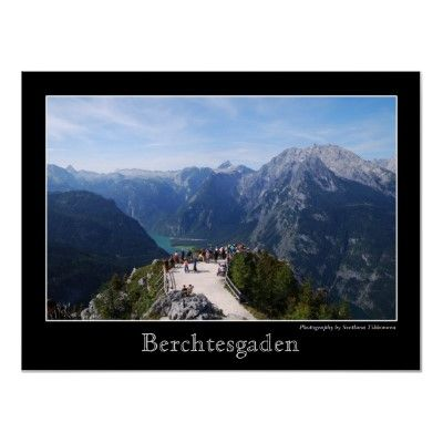 View from Jenner mountain over Königssee and Watzmann mountain in Berchtesgaden, Bavaria