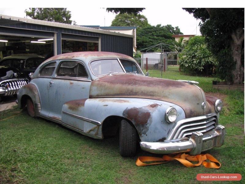 1948 oldsmobile sedanette fastback not ford chev chevrolet pontiac ...