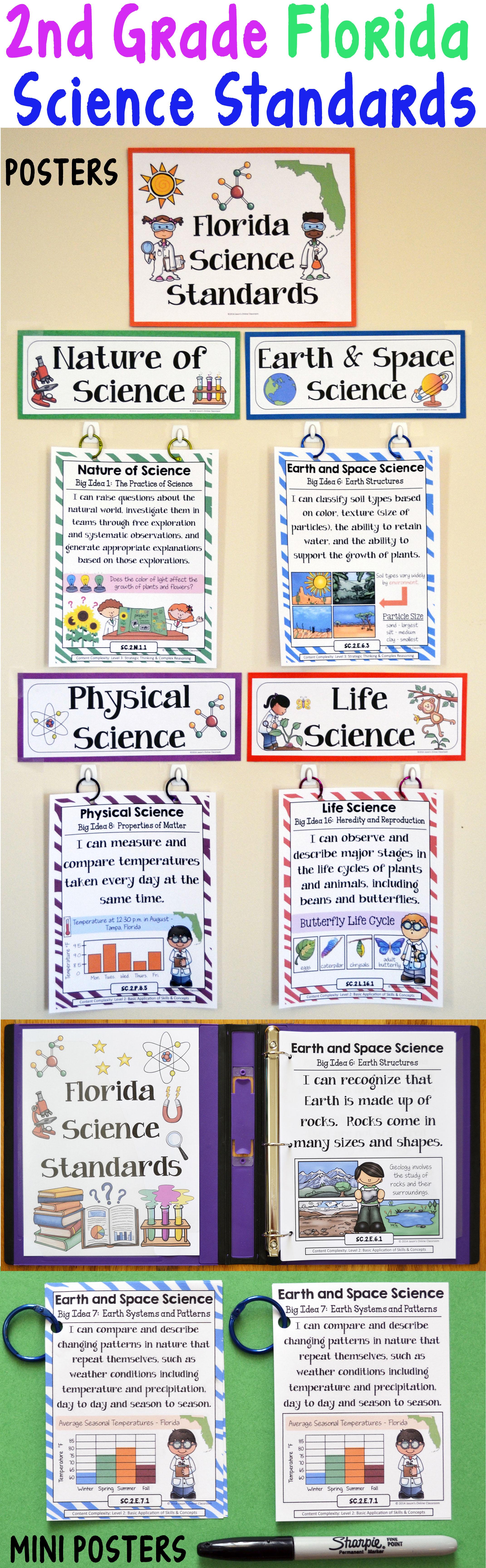 2nd Grade Florida Science Standards