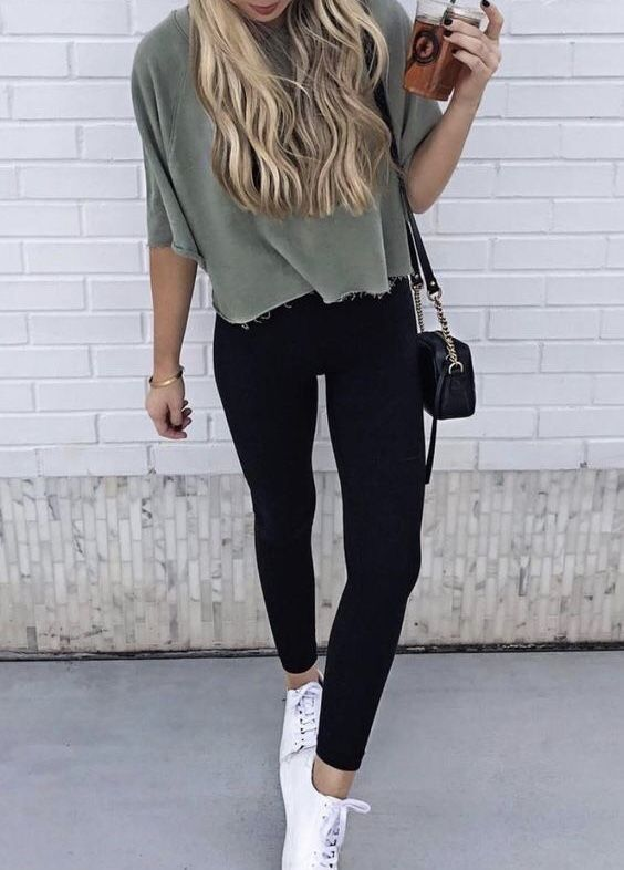 Spring Outfits With Leggings Casual Outfits