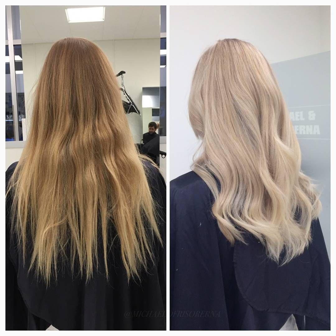 ljusa upp håret