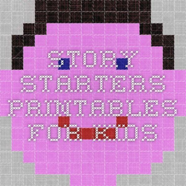 Story Starters - Printables for Kids