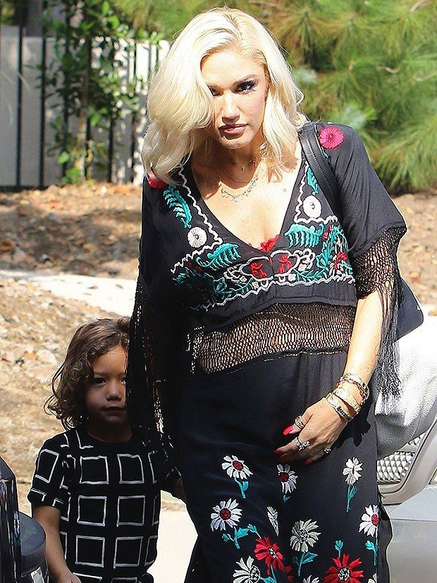 Due and when baby is gwen blakes Gwen Stefani