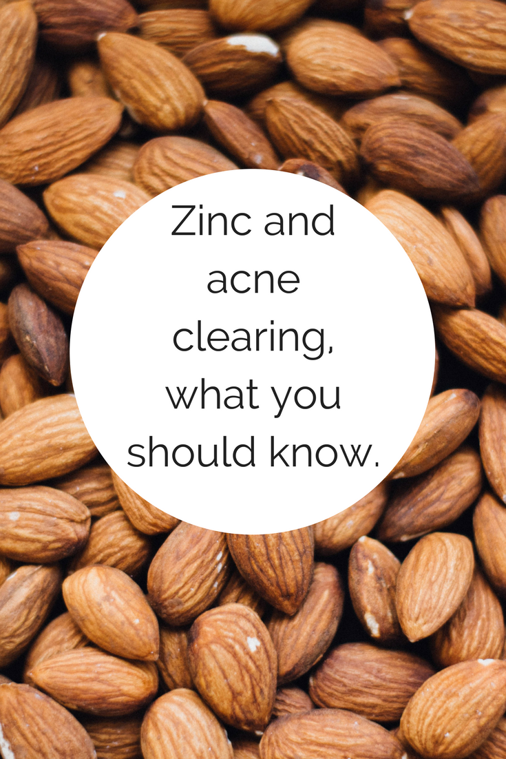 Does zinc help acne? 5 steps you can take if a zinc