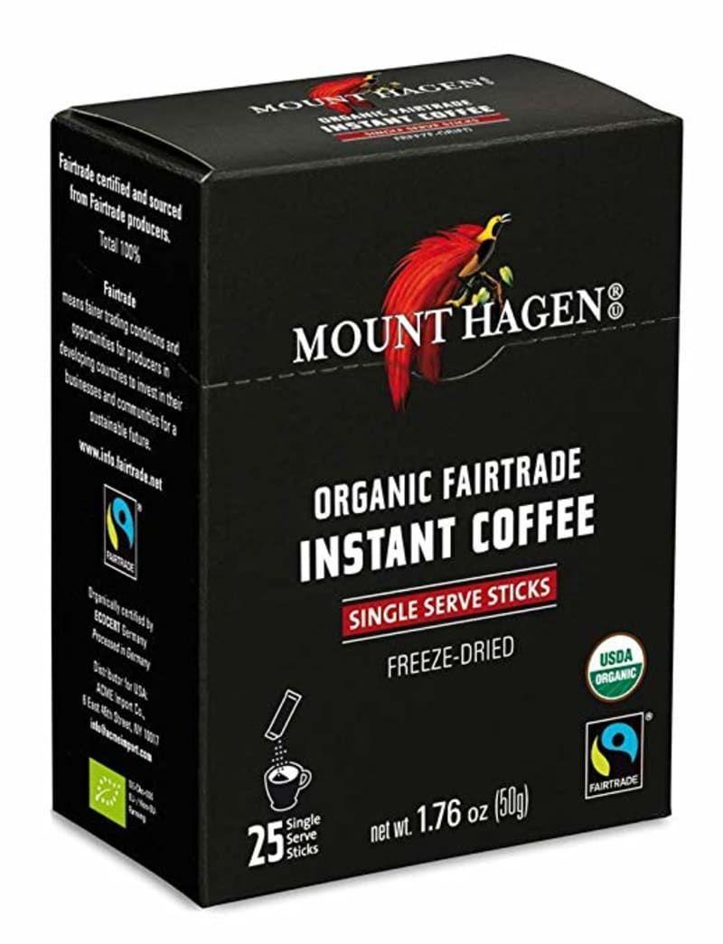 Best Organic Instant Coffee Mount Hagen Organic Instant