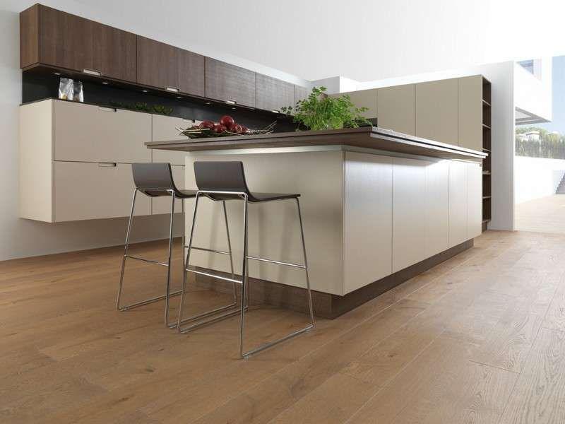 Abbinare Il Pavimento Al Rivestimento Della Cucina Cucina Moderna E Parquet Chiaro Cucine Contemporanee Mobili Da Cucina Moderna Pavimento Cucina