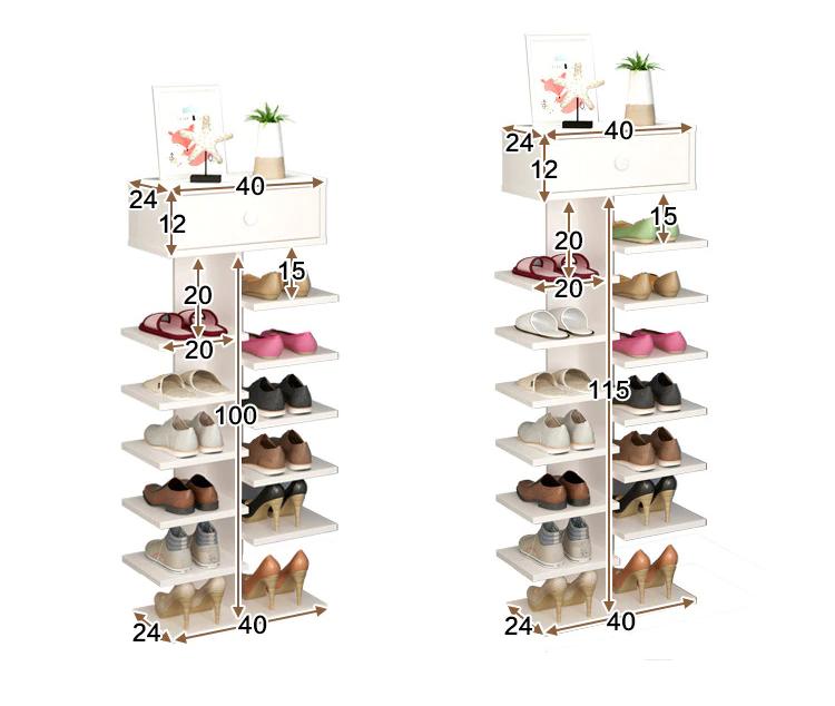 Us 68 7 20 Rabatt Doppelte Schuhregale Scarpiera Veranstalter Holzmobel Estanteria Para Zapatos Fur Wohnzimmer Schuh In 2020 Home Furniture Shoe Rack Shoe Cabinet