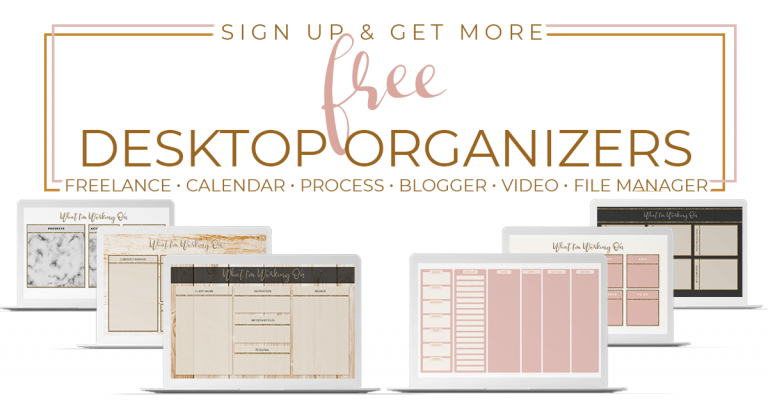 Desktop Organizer Wallpaper Prettywebz Media Business Templates Graphics Desktop Wallpaper Organizer Desktop Organization Organization