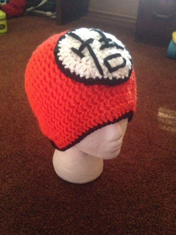Dragon Ball Z crochet hat by KristinsArt4u on Etsy Gorros f043f336b5ad