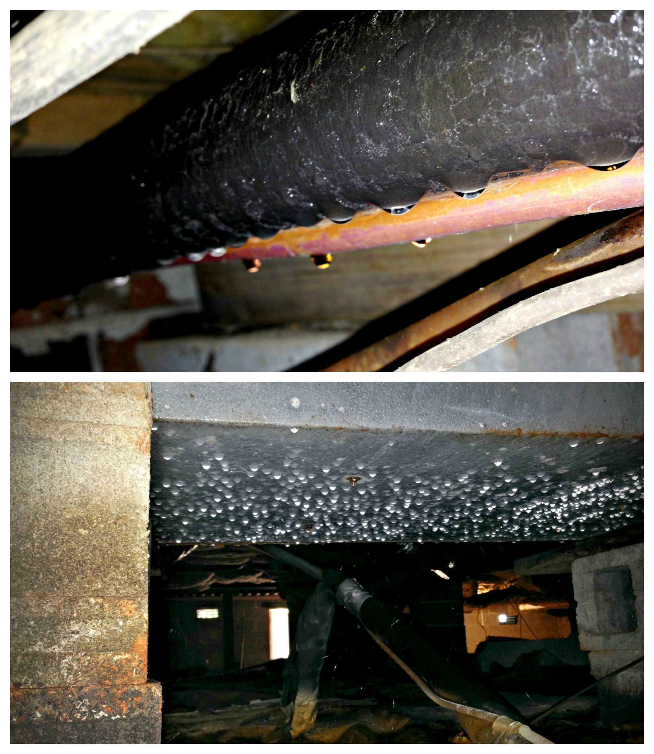 How To Fix Moisture In Your Crawl Space Moisture Under The Home Provides A Perfect Environment For Wood Rot Mo Fixer Upper House Home Insulation Home Repair