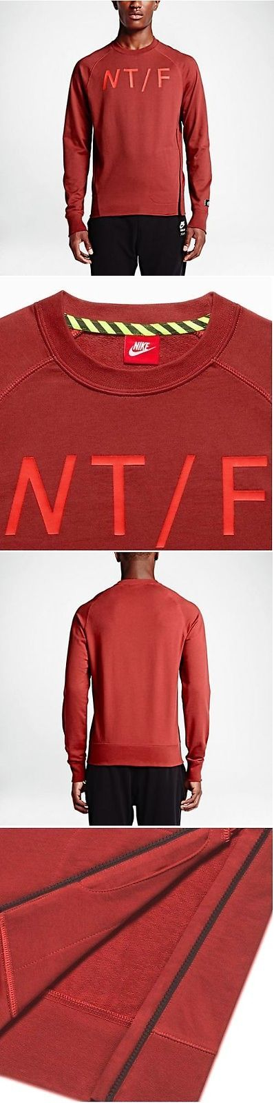 Hoodies and Sweatshirts 59392: Nwt Men S Nike Track And Field Crewneck Sweatshirt Xl 687430 Warmup Sport Casual -> BUY IT NOW ONLY: $34.99 on eBay!