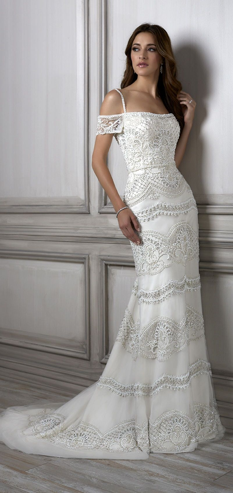 wedding dress by Adrianna Papell | Wedding Dresses - Special Day ...