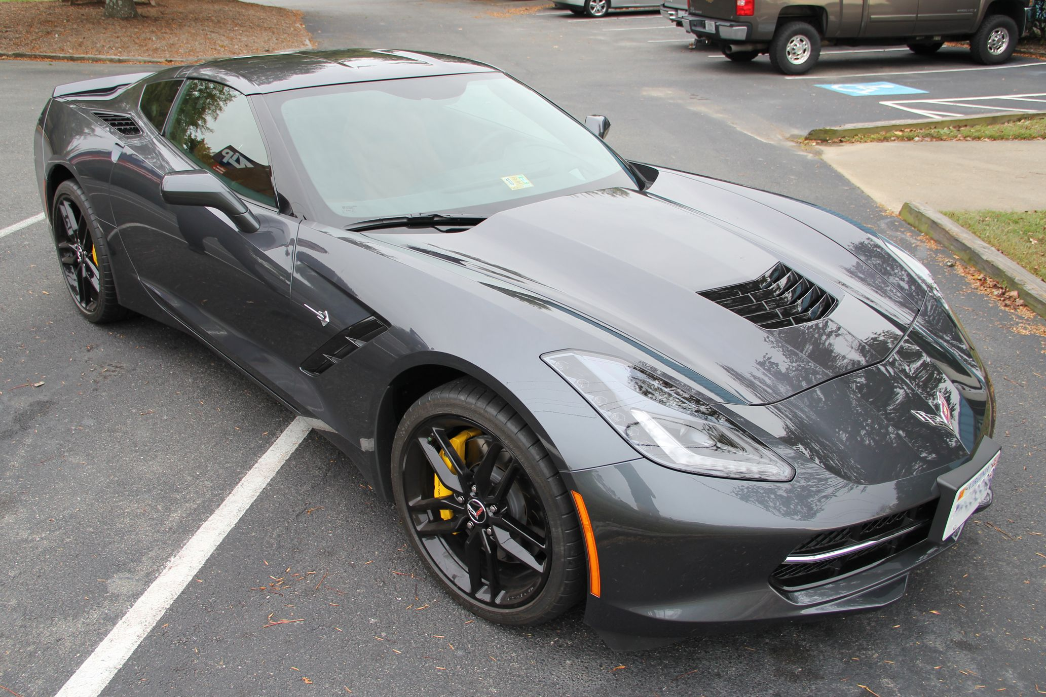 OOOhh Baby! Cyber Gray C7 #Corvette | Along for the ride ...