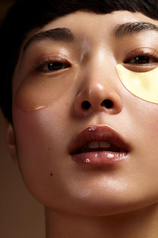 Behance Para você Eye bags makeup, Face scrub